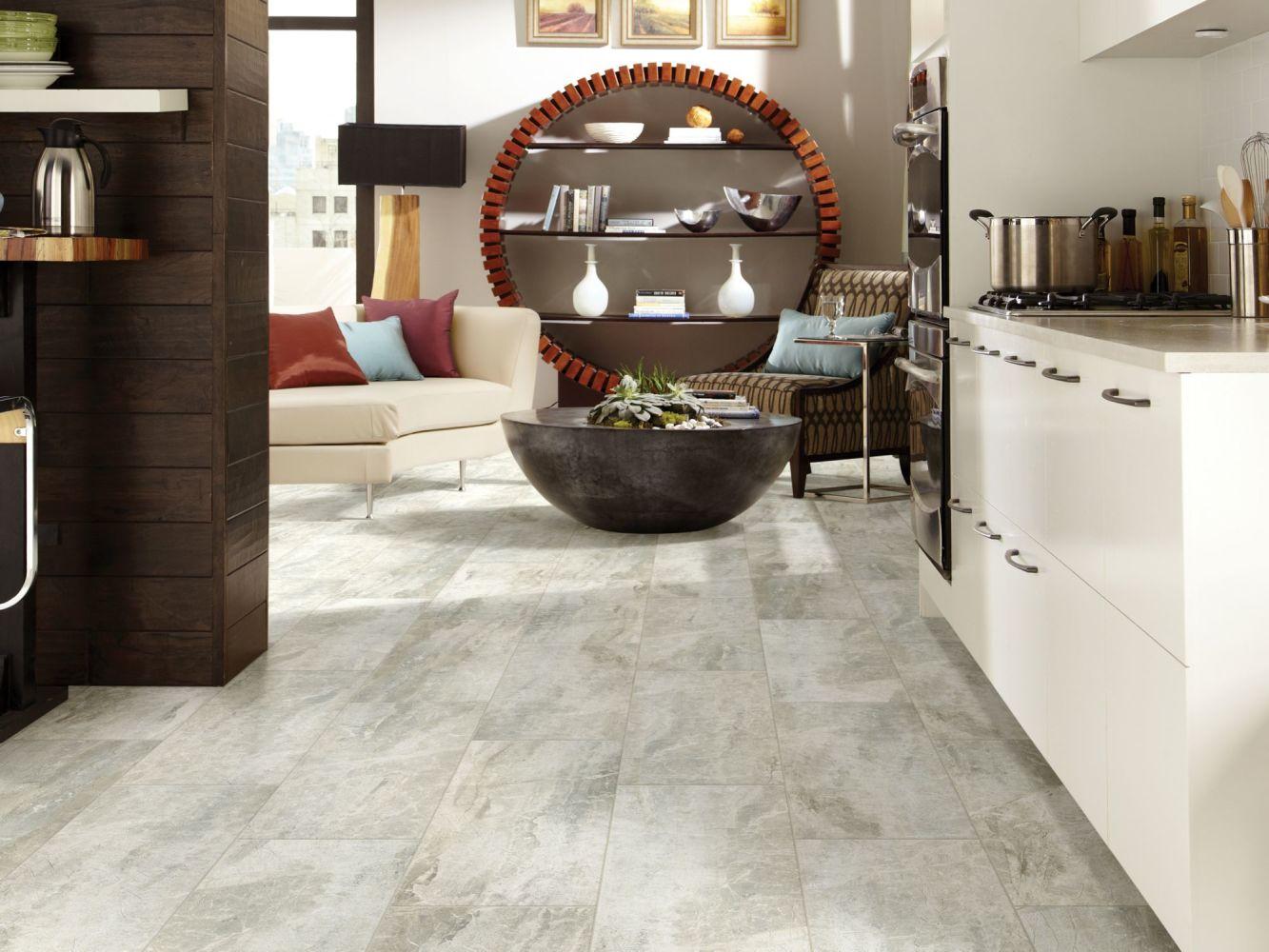 Shaw Floors Home Fn Gold Ceramic Apex 13×13 Grey 00500_TGN67
