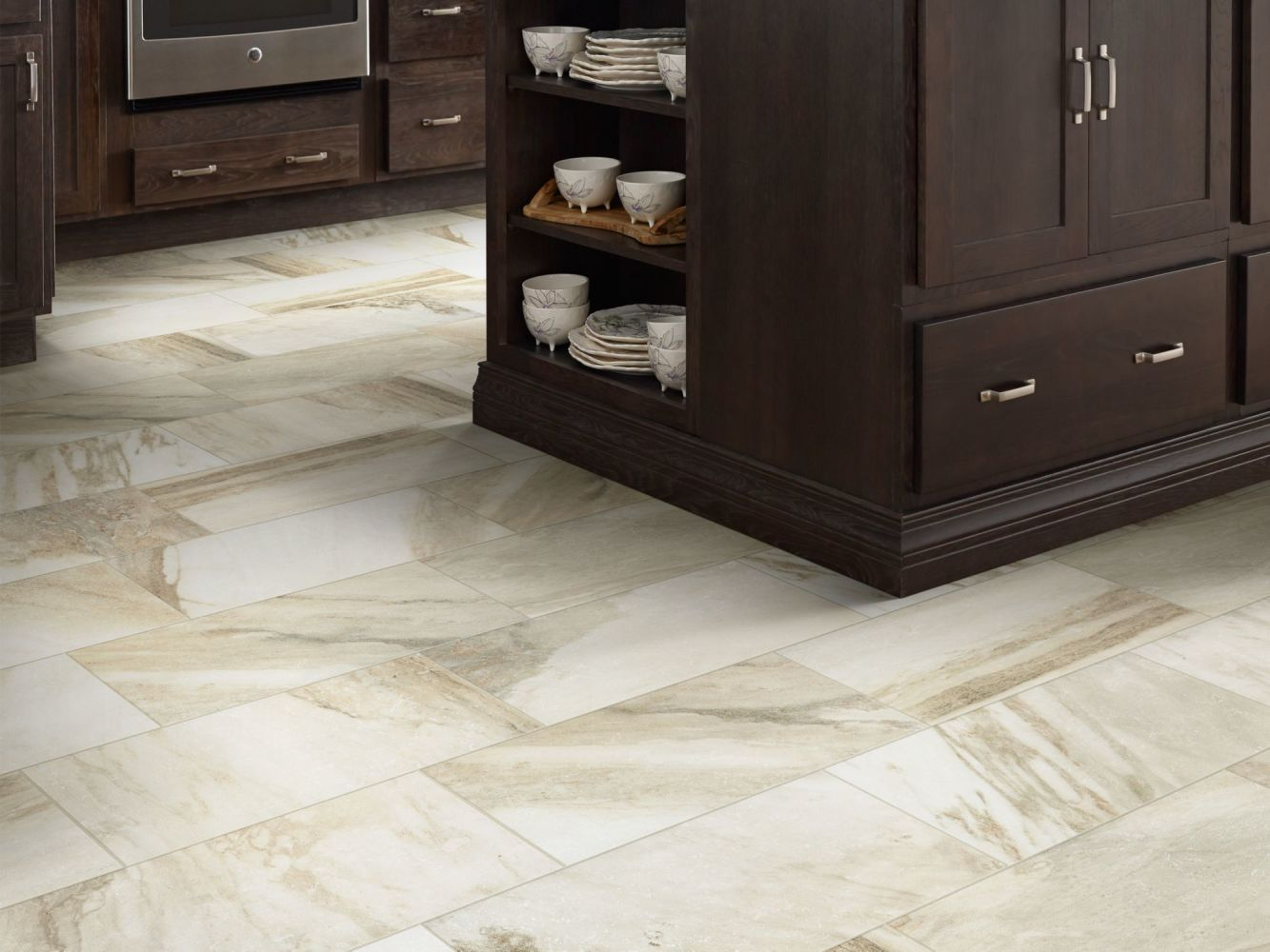 Shaw Floors Home Fn Gold Ceramic Capitol 13×13 Breccia 00200_TGN72