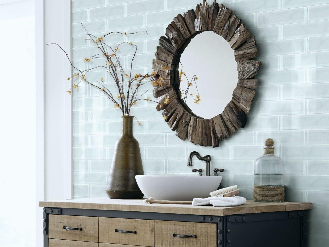 Shaw Floors Toll Brothers Ceramics Principal 3×12 Artisan Glass Skylight 00150_TL73B