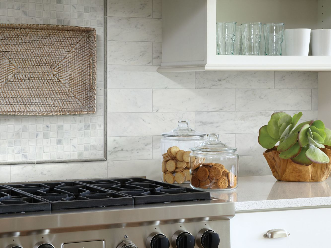 Shaw Floors Toll Brothers Ceramics Estate 4×16 Bianco Carrara 00150_TL85B