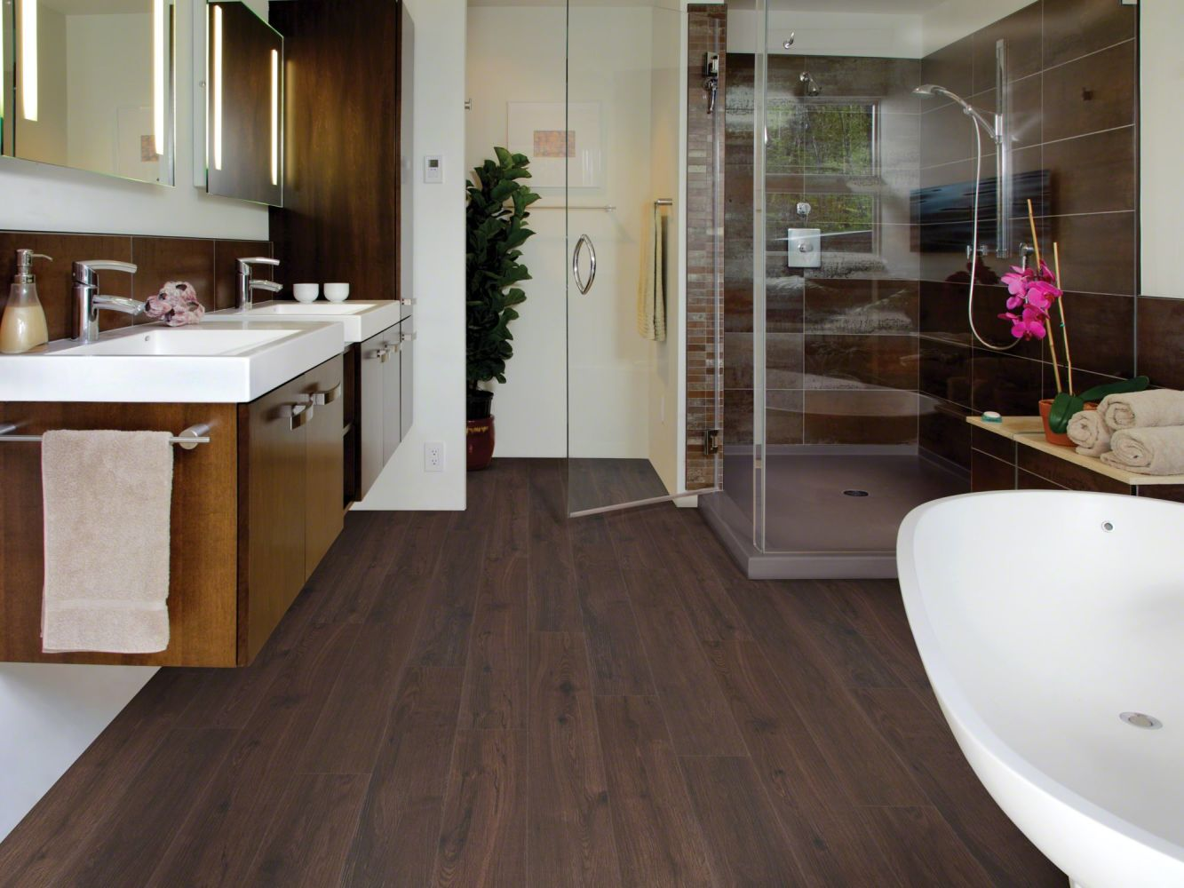 Shaw Floors Resilient Property Solutions Brava Marrone 00724_VE145