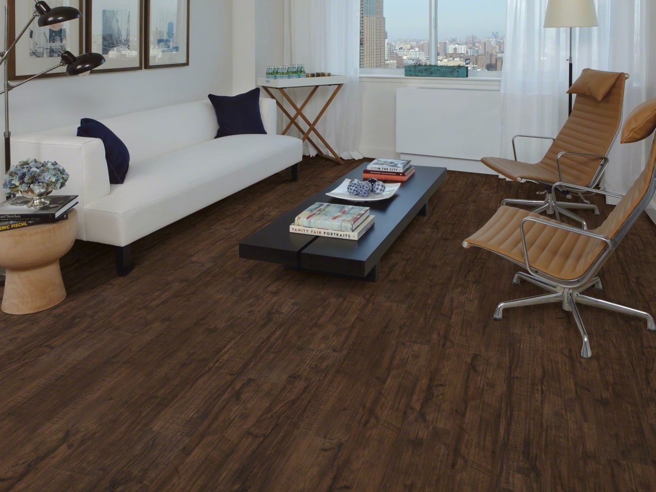 Shaw Floors Resilient Property Solutions Optimum 512c Plus Umber Oak 00734_VE210