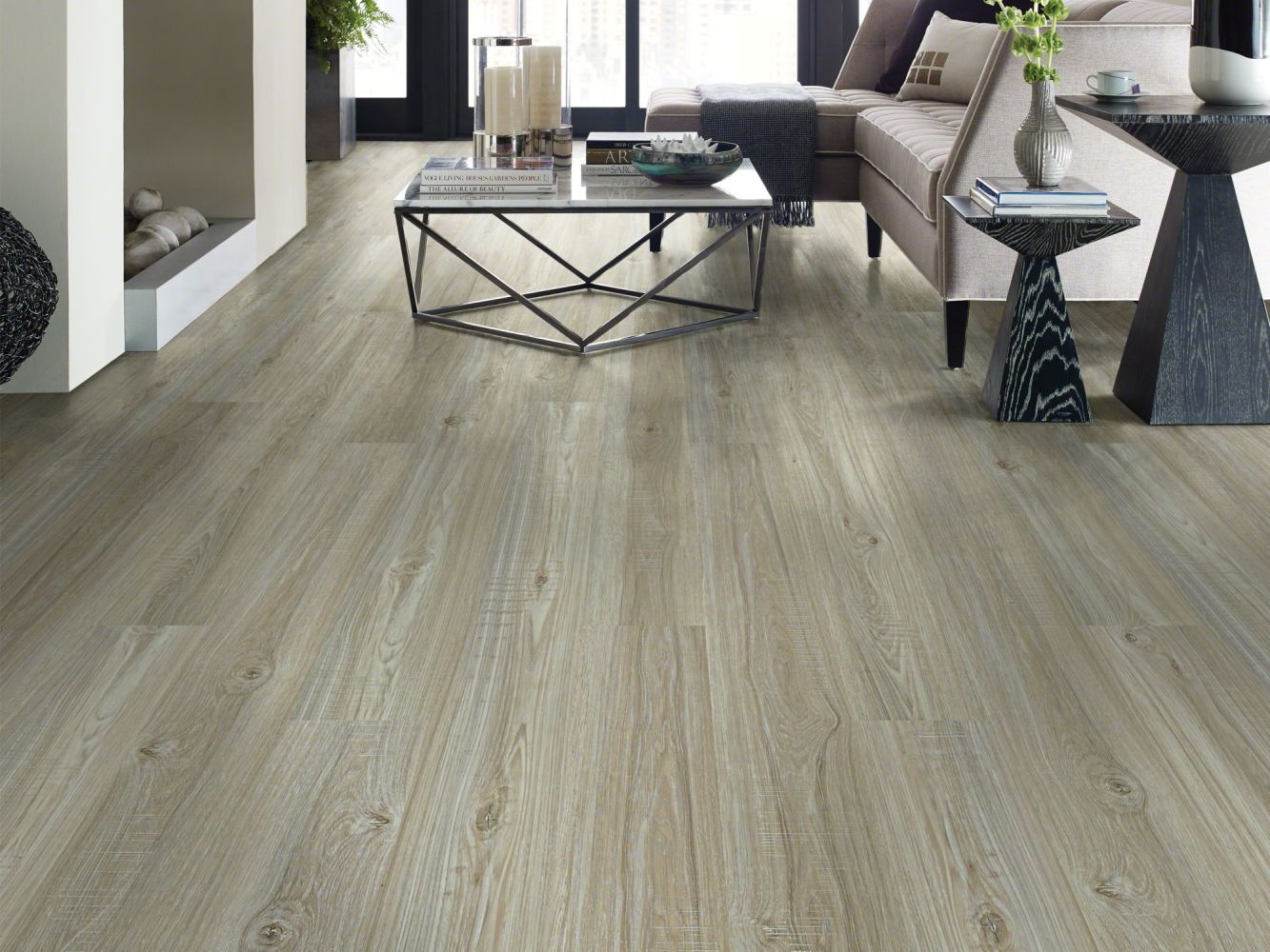 Shaw Floors Resilient Property Solutions Presto 306c Washed Oak 00509_VE245