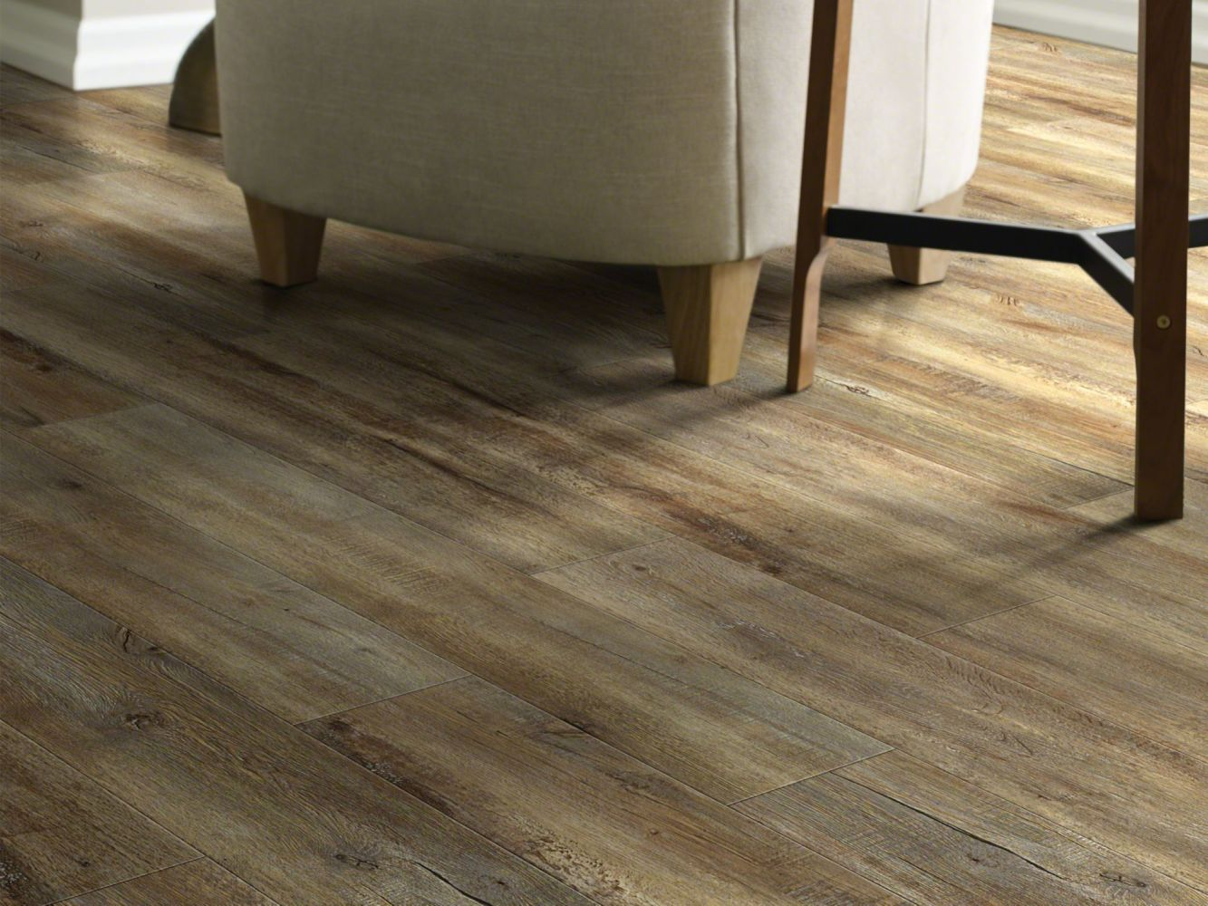 Shaw Floors Resilient Property Solutions Presto 306c Modeled Oak 00709_VE245