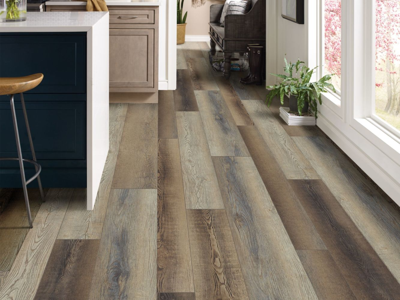 Shaw Floors Resilient Property Solutions Resolute Mix Plus Brush Oak 07033_VE279