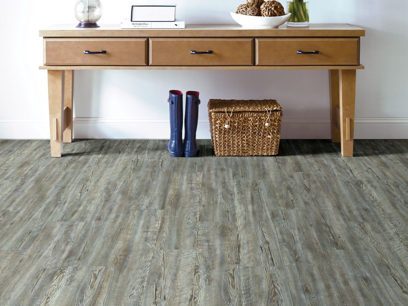 Shaw Floors Resilient Property Solutions Presto Plus Weathered Barnboard 00400_VE284