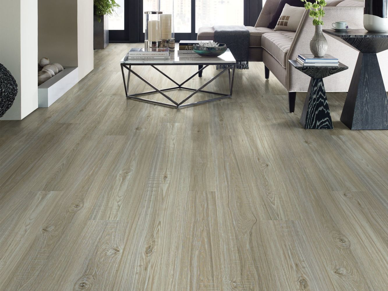 Shaw Floors Resilient Property Solutions Presto Plus Washed Oak 00509_VE284