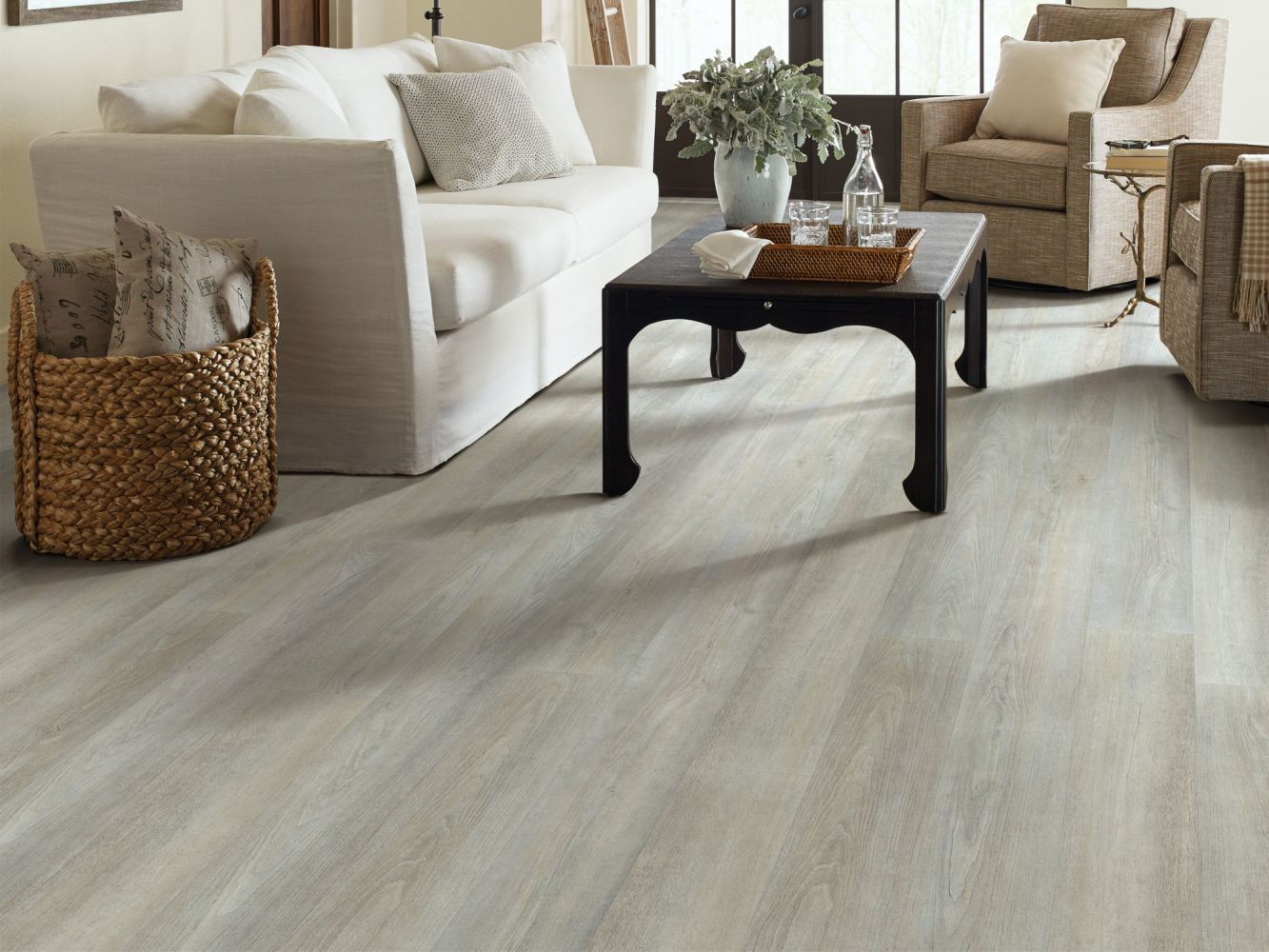 Shaw Floors Resilient Property Solutions Brio Plus Greige Walnut 05078_VE285