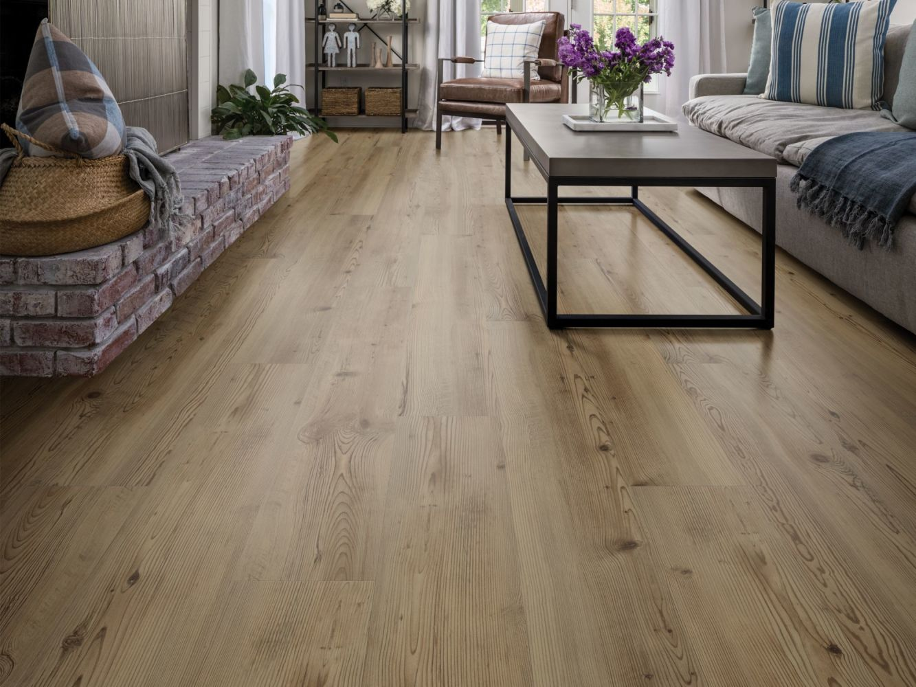 Shaw Floors Resilient Property Solutions Patriot+ Milled Sierra Pine 06002_VE308