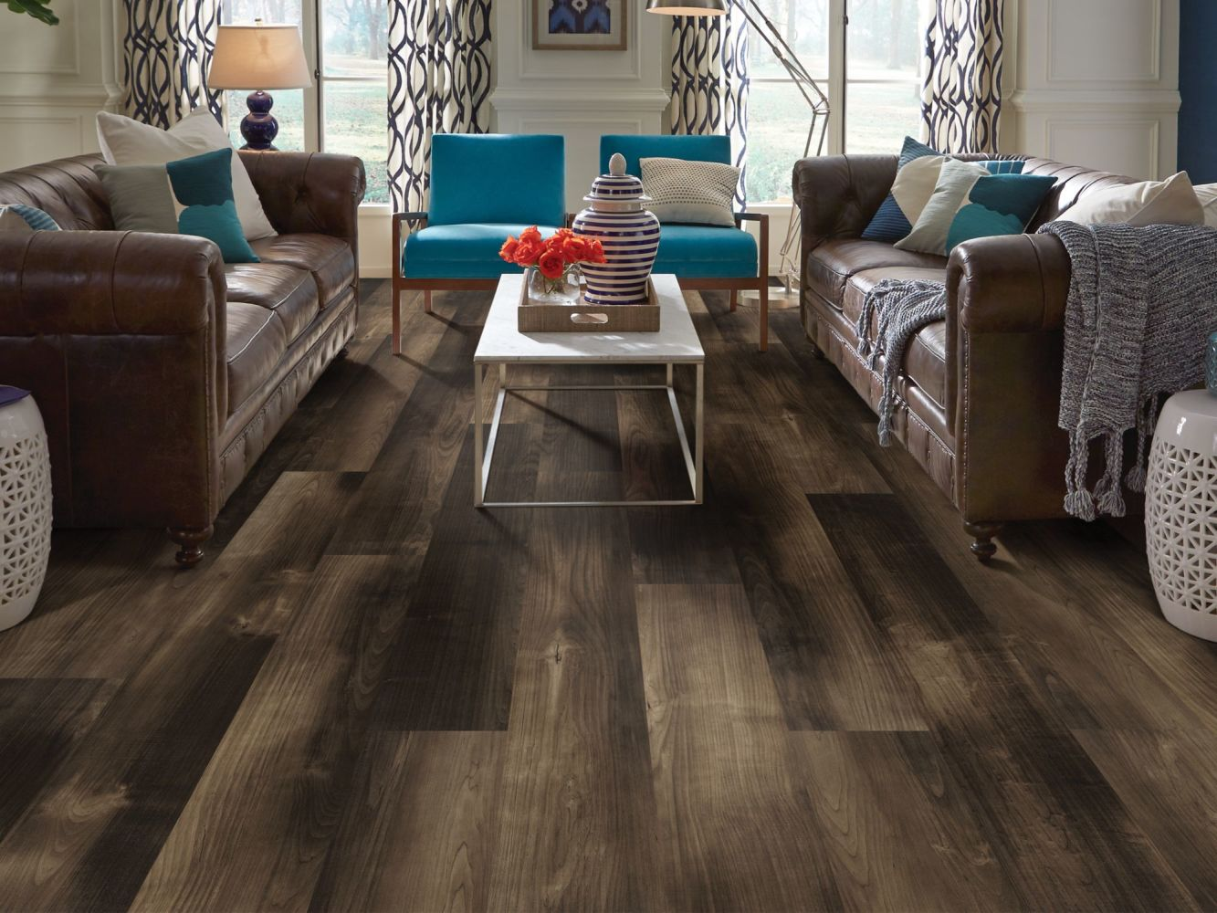 Shaw Floors Resilient Property Solutions Patriot+ Milled Mill Creek Maple 07060_VE308