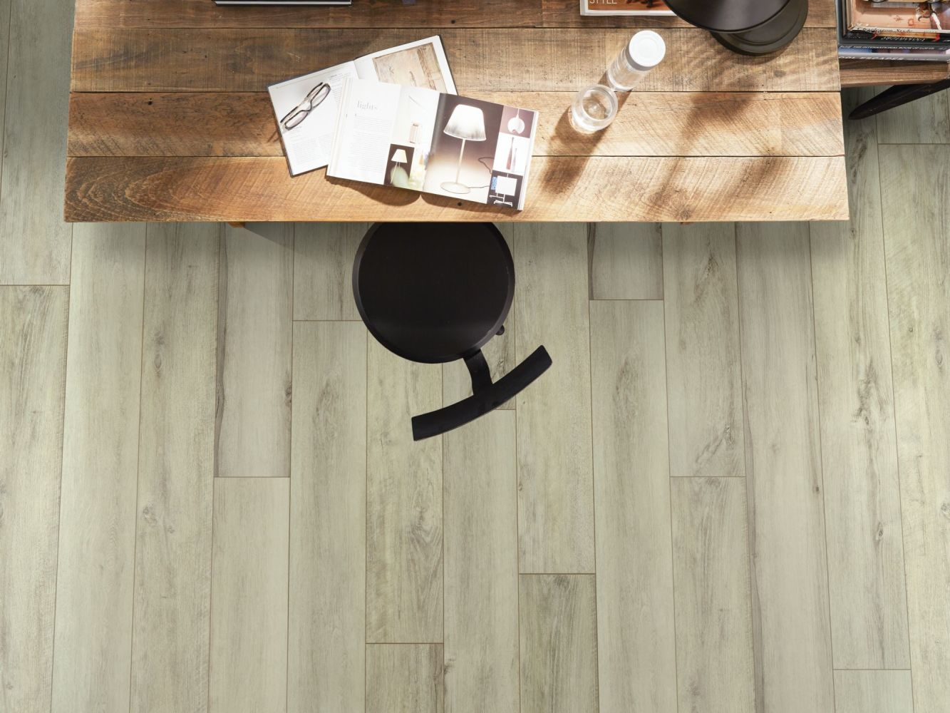 Shaw Floors Resilient Property Solutions Resolute XL HD Plus Seashell White Oak 01028_VE387