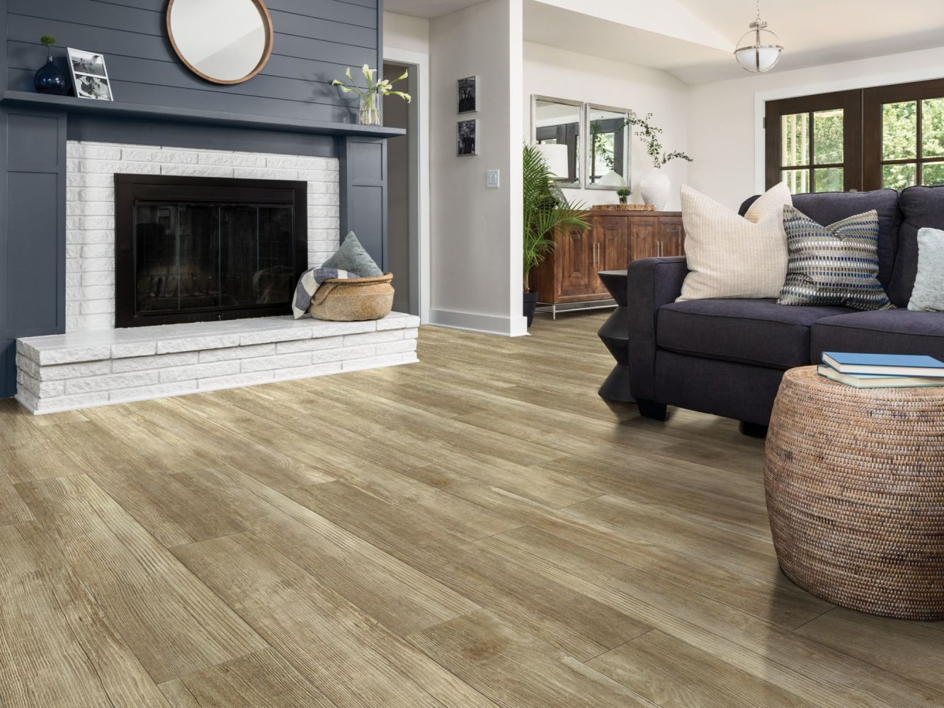 Shaw Floors Resilient Property Solutions Bonafide Hd+accent Olive Branch 07082_VE427