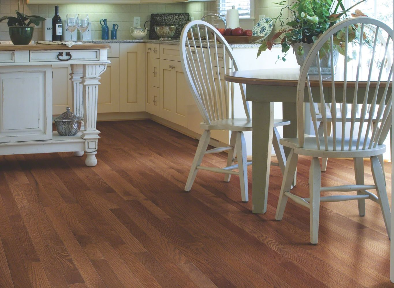 Shaw Floors Nfa Premier Gallery Hardwood Edenwild 3.25 Saddle 00401_VH030