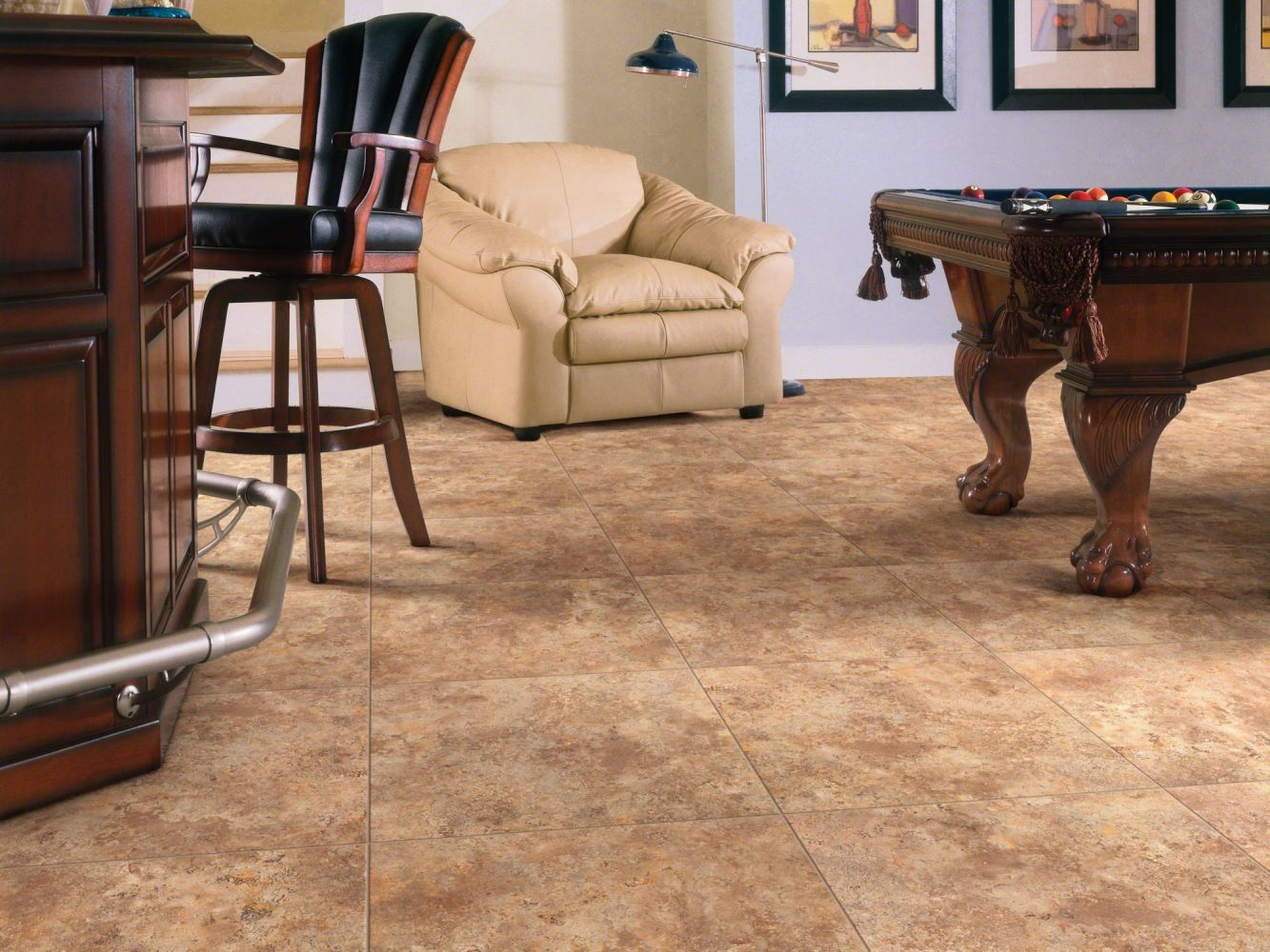 Shaw Floors Nfa HS Serenity Lake Tile Baked Clay 00670_VH505
