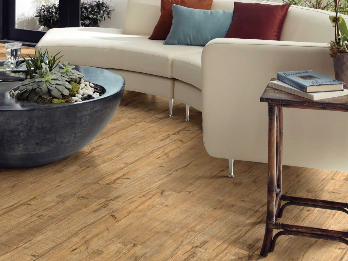 Shaw Floors Nfa Premier Gallery Resilient Archdale Muslin 00224_VH529