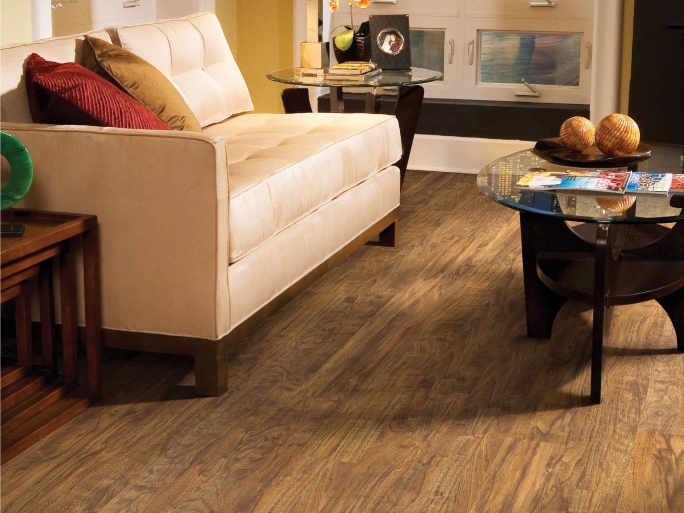 Shaw Floors Resilient Property Solutions Easy Step Plank Flint 00234_VPS90