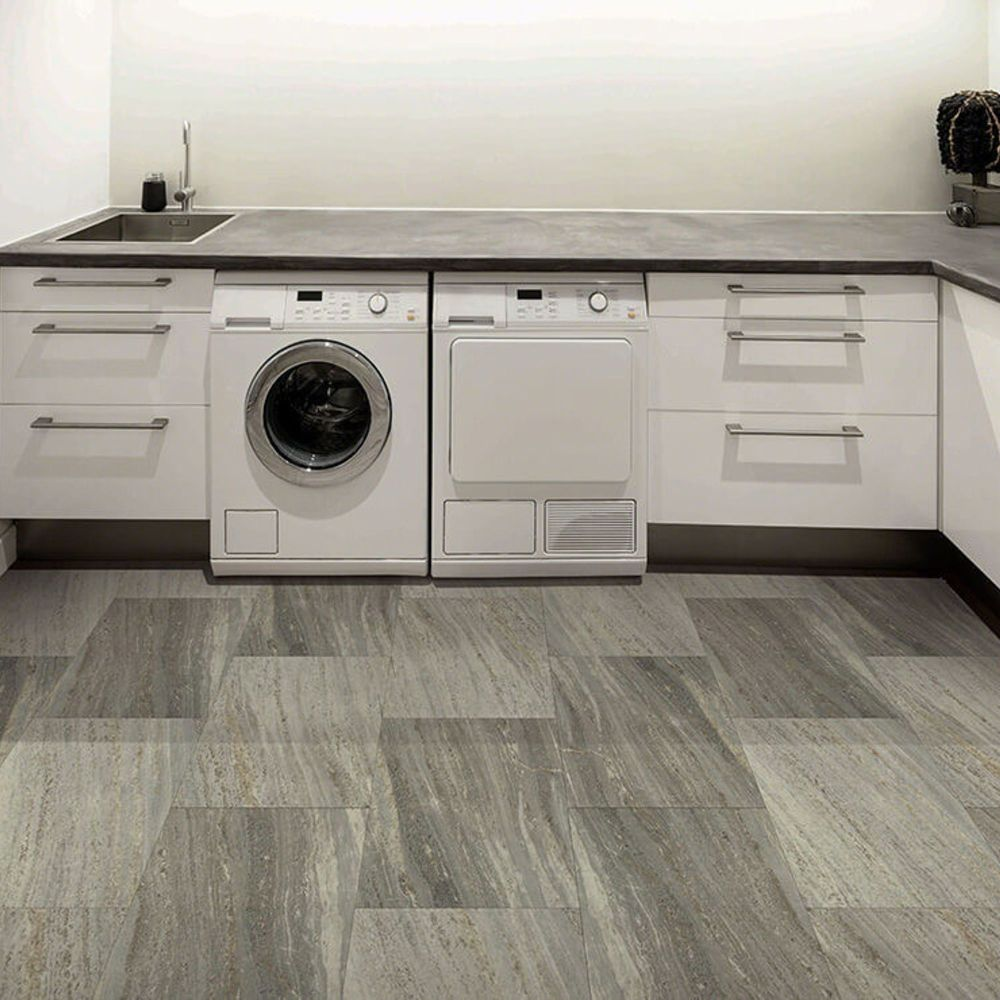 Vinyl Residential COREtec Plus Enhanced Tile 18″ Volans 01860_VV016
