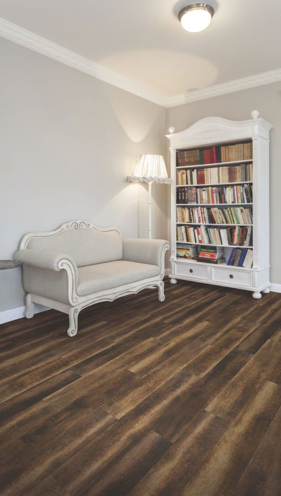 Shaw Floors Vinyl Residential COREtec Plus Plank HD Vineyard Barrel Driftwood 00651_VV031