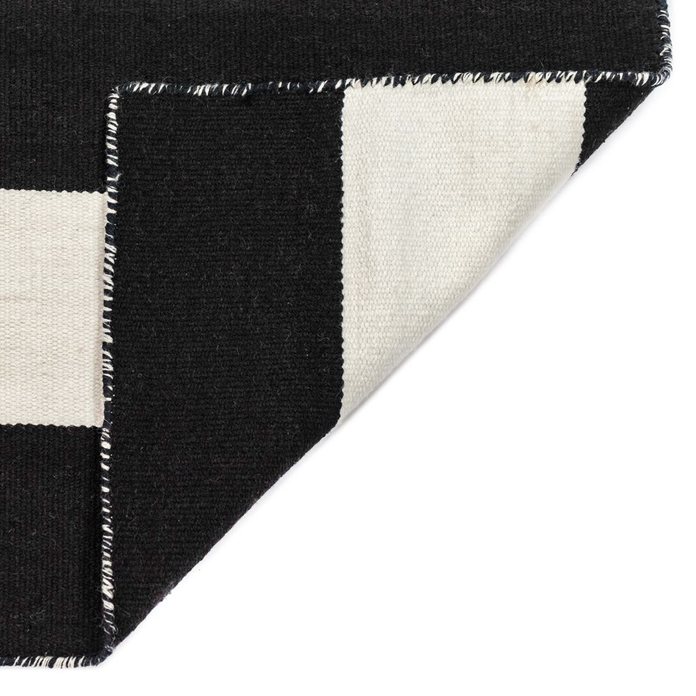Liora Manne Sorrento Contemporary Black 8'0″ x 8'0″ Square SRNS8630248