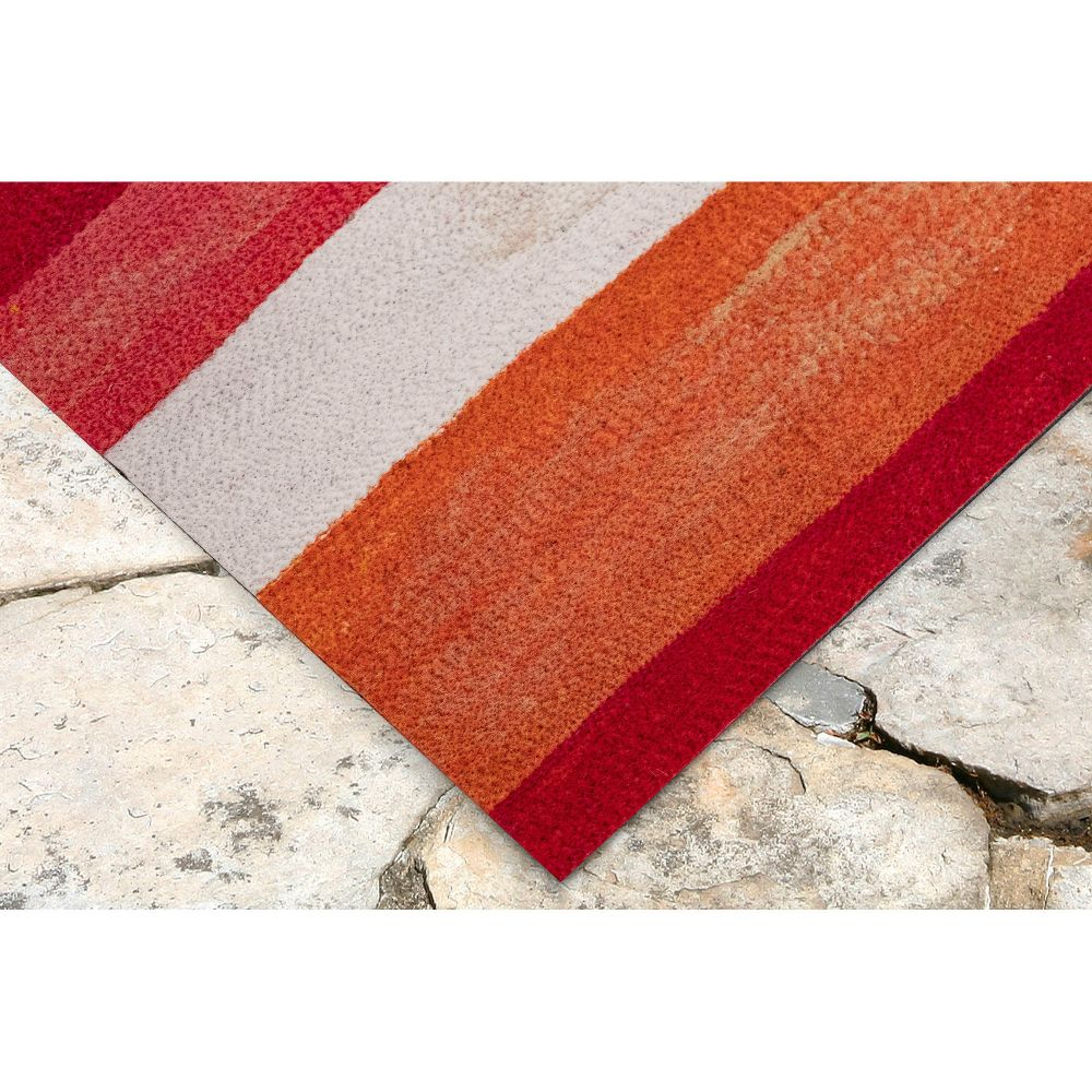 Liora Manne Visions II Contemporary Red 3'6″ x 5'6″ VCF46431324