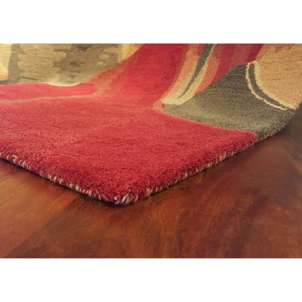 Liora Manne Tivoli Contemporsry Red 9'0″ x 12'0″ TIV92810824