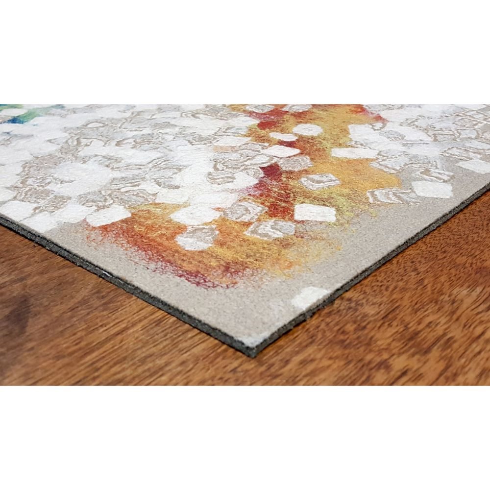 Liora Manne Visions Iv Contemporary Natural 8'0″ x 8'0″ Square VGHS8412612