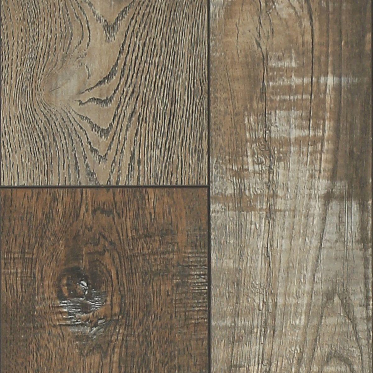 Laminate Flooring Lifetime Olde Mill, Reclaimed Barnwood 8mm Laminate Flooring