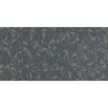 Daltile Fabric Art Modern Kaleidoscope Midnight Steel Prism Gray/Black MK7312241P