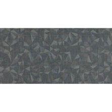 Daltile Fabric Art Modern Kaleidoscope Midnight Steel Prism Gray/Black MK7312241P