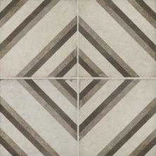 Daltile Quartetto Cool Piazza Gray/Black QU2488PIAZZSM1P