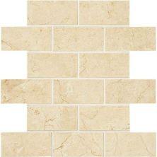 American Olean Mirasol Crema Laila 2 x 4 MosaicML71 ML7124SWTCH2
