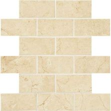 American Olean Mirasol Crema Laila 2 x 4 MosaicML71 ML7124BJMS1P