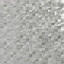 Daltile Structure Steel 1/2 X 1/2 3d Cube Gray/Black ST701212HLMS1P