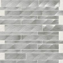 Daltile Structure Steel 12 X 12 Interlocking Mosaic Gray/Black ST701212MS1P