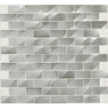 Daltile Structure Steel 1 X 2 3d Brickjoint Gray/Black ST7012HLBJMS1P