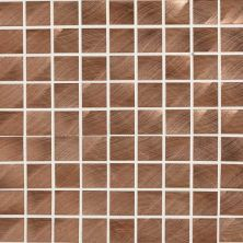 Daltile Structure Copper 1 X 1 Mosaic Copper ST7111MS1P