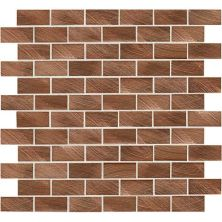 Daltile Structure Copper 1 x 2 BrickJoint ST7112BJMS1P