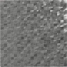 Daltile Structure Gunmetal 1/2 x 1/2 3D Cube ST721212HLMS1P