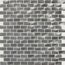 Daltile Structure Gunmetal 1/2 X 1 Brickjoint Gray/Black ST72121BJMS1P