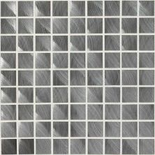 Daltile Structure Gunmetal 1 X 1 Mosaic Gray/Blac ST7211MS1P