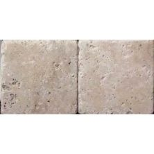 Daltile Travertine Collection Ivory Classico (tumbled) Beige/Taupe BE10661P