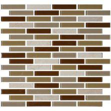Daltile Mosaic Traditions Caramelo 5/8 x 3 Brickjoint Mosaic BP95583BJMS1P
