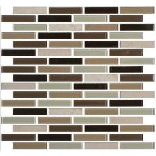 Daltile Mosaic Traditions Zen Escape 5/8 X 3 Brickjoint Mosaic Beige/Taupe BP96583BJMS1P