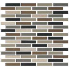 Daltile Mosaic Traditions Skyline 5/8 X 3 Brickjoint Mosaic Beige/Taupe BP99583BJMS1P