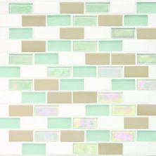 Daltile Coastal Keystones Trade Wind 2 x 1 BrickJoint Mosaic CK8621BJPM1P