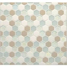 Daltile Coastal Keystones Trade Wind Hexagon Mosaic CK861HEXSWTCHCD