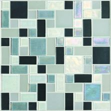 Daltile Coastal Keystones Tropical Thunder Block Random Mosaic CK88BLRANDPM1P