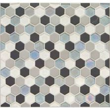 Daltile Coastal Keystones Tropical Thunder Hexagon Mosaic CK881HEXSWTCHCD