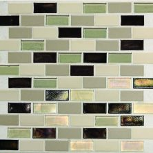 Daltile Coastal Keystones Sunset Cove 2 x 1 BrickJoint Mosaic CK8921BJPM1P