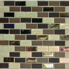 Daltile Coastal Keystones Treasure Island 2 X 1 Brickjoint Mosaic Brown CK9021BJPM1P